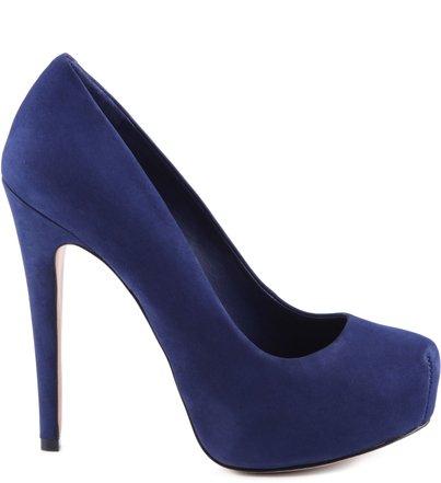 SCARPIN RETRÔ DIVA DRESS BLUE