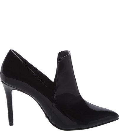Ankle Boot Cut Verniz Black | Schutz