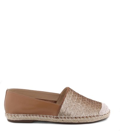 ESPADRILLE GOLD SEQUINS