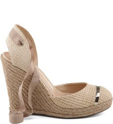 ESPADRILLE ANABELA NATURAL