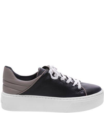 Classic Sneaker Black And Grey | Schutz
