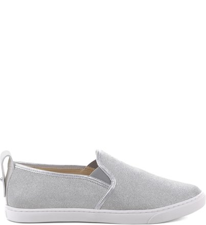 Slip On Step Up Mini Shine Prata | Schutz