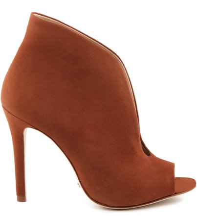 ANKLE BOOT MOSS CARAMEL