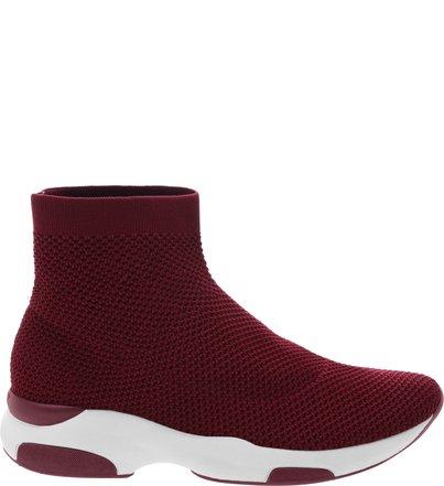 Sock Sneaker Knit Red   Schutz