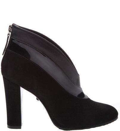 Ankle Boot Cava Camurça Black | Schutz
