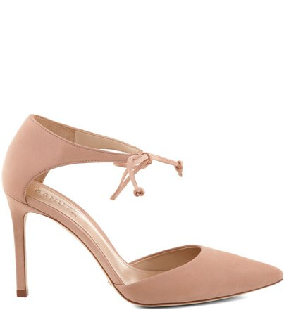 SCARPIN PARTY LACE UP PEACH