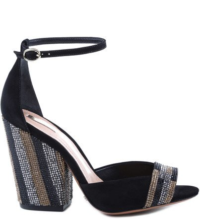 SANDÁLIA SALTO BLOCO LUXURY BLACK