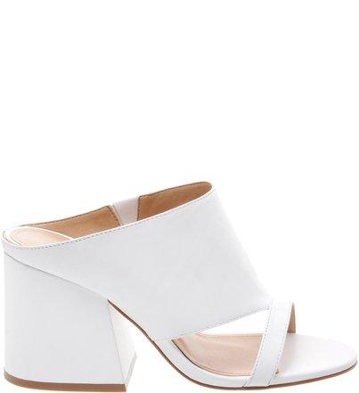 Mule Cut Out White | Schutz