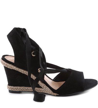 SANDÁLIA STRAP LEG BLACK