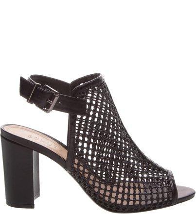 Sandália Cage Leather Black | Schutz