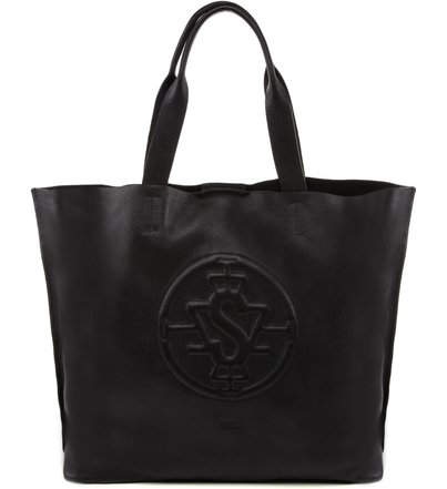 SHOPPING LOGOMANIA BLACK