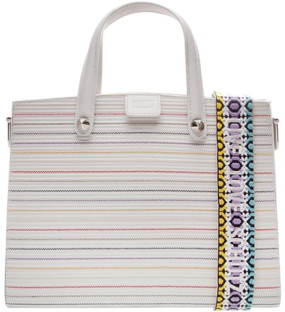 Maxi Tote Live Love Colors White | Schutz