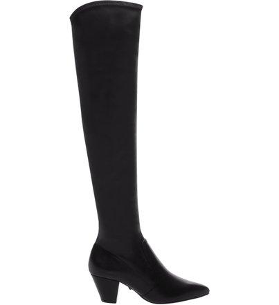 Bota Over The Knee Block Heel Black | Schutz