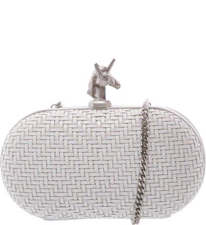 Clutch Unicorn Pearl   Schutz