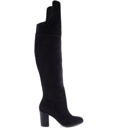 BOTA HIGH OVER THE KNEE SUEDE BLACK