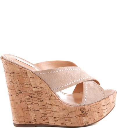 ANABELA CROSSED STRAPS OYSTER