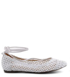 SAPATILHA LACE UP WHITE