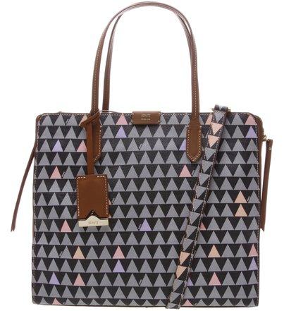 New Shopping Bag Triangle Black - Personalização Bag Charm   Schutz
