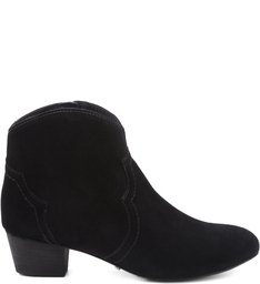 ANKLE BOOT FOLK BLACK