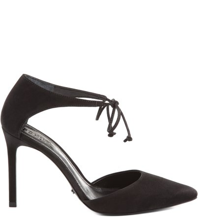 SCARPIN PARTY LACE UP BLACK