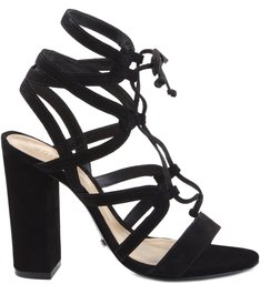 SANDÁLIA TIED UP MULTI STRAPS BLACK