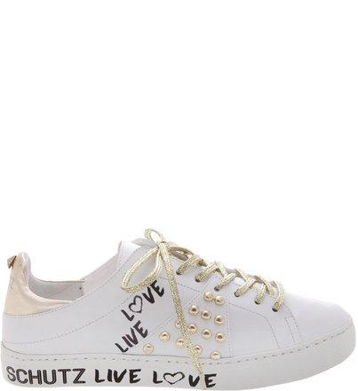White Sneakers Grafite Studs Dourado | Schutz