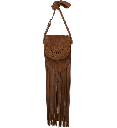 CROSSBODY FRINGES BAMBOO