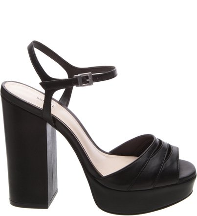 Sandália Salto Bloco Black | Schutz