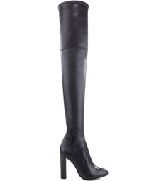 MAXI OVER THE KNEE VARNISH BOOTS