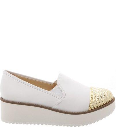 Flatform Slip On White | Schutz
