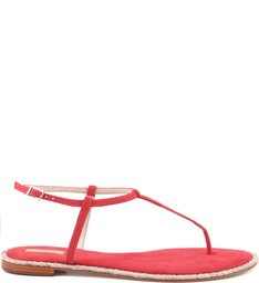 FLAT SIMPLE STRIPES SUMMER RED