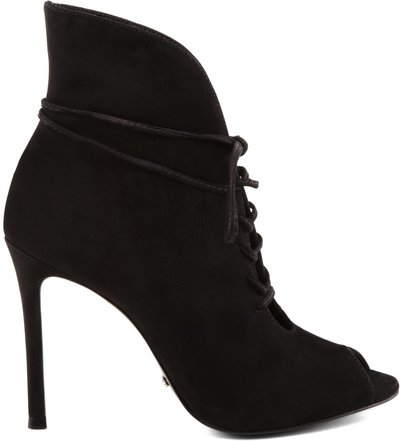 ANKLE BOOT LACE UP BLACK
