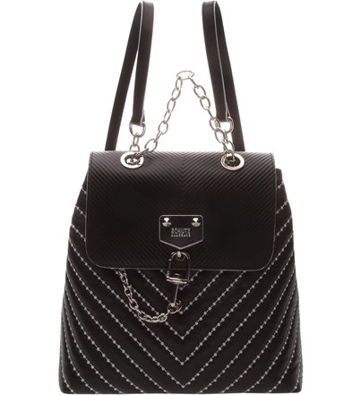 Backpack Chains & Studs Black | Schutz