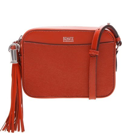Crossbody Box Tassel Bright Orange | Schutz