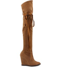 OVER THE KNEE BOOT ANABELA WOOD