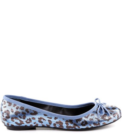 SAPATILHA ANIMAL PRINT BLUE