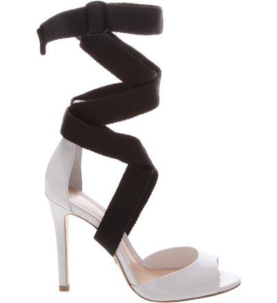Sandália Amarração Street White | Schutz