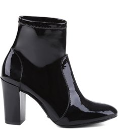 SKINNY STRECH BOOTS VARNISH BLACK