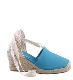 ESPADRILLE LACE UP TURQUESA| BF