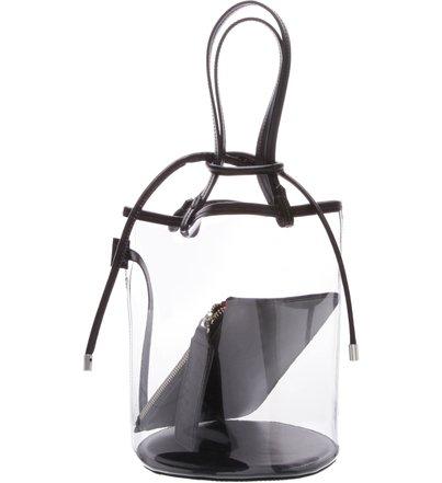Bucket Bag Vinil Crystal Black | Schutz