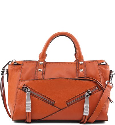 MINI SATCHEL ELLA ORANGE OCHRE