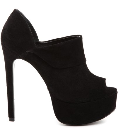 PEEP TOE RHAPSODY BLACK