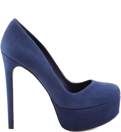 SCARPIN RETRÔ DIVA HIGH DRESS BLUE