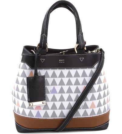 Mini Emma Triangle Pearl - Personalização Bag Charm | Schutz