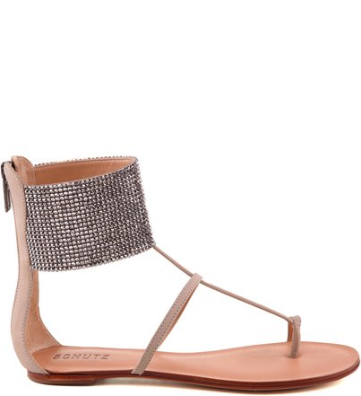 RASTEIRA LARGE ANKLE STRAP OYSTER