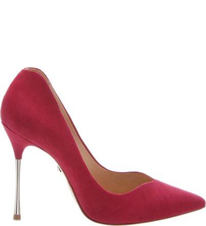 Scarpin Metallic Heel Pink   Schutz