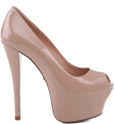 PEEP TOE HIGH NUDE