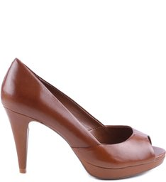 PEEP TOE BASIC WOOD