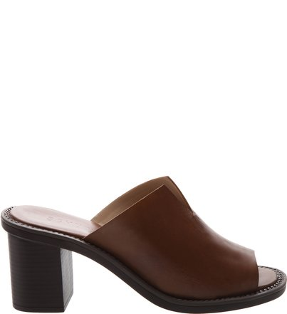 Mule Block Heel Caramelo | Schutz
