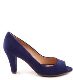 PEEP TOE SUMMER NAVY